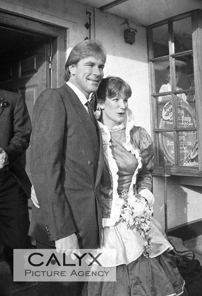 Film Rush James Hunt Wedding On 17th Dec 1983 In