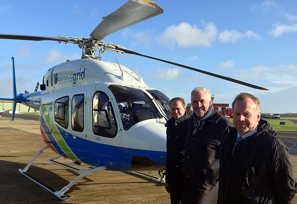 Wiltshire Air Ambulance sign contract with Heli Charter for new Bell 429 - National Grid Heli