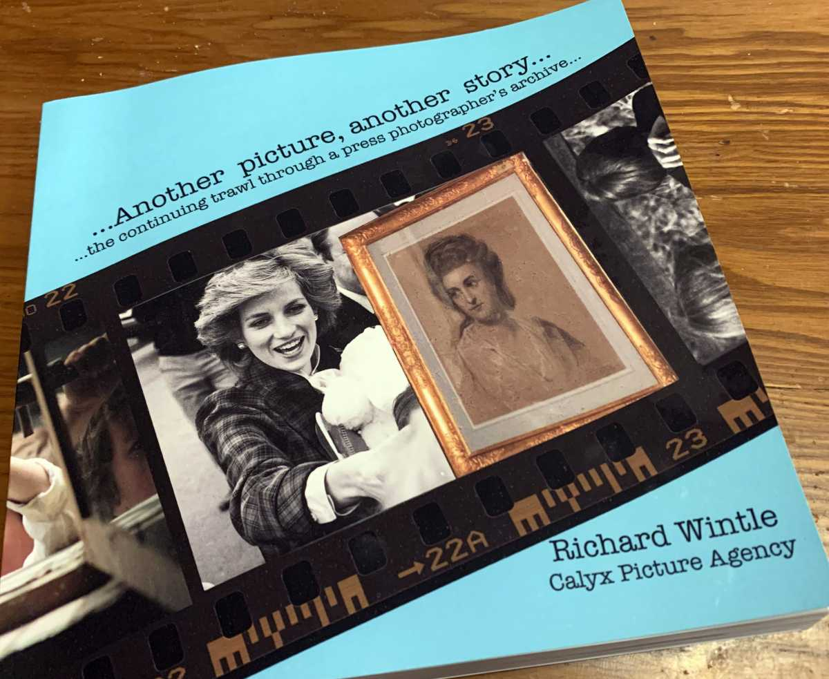 Another picture, another story... the continuing trawl through a press photographer's archive - paperback - SIGNED COPY (£14.95)